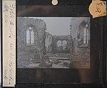 Église démolie pendant la Première Guerre mondiale - Plaque photographique.jpg