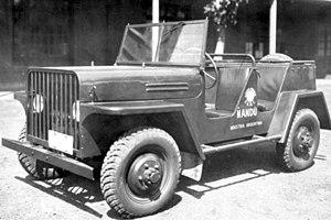 Argentine defense industry - Ñandú jeep