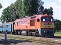 Örkény vasútállomás M62 108 a 2834. számú vonattal 2010-07-09.JPG