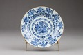Östasiatisk keramik. Tallrik - Hallwylska museet - 95759.tif