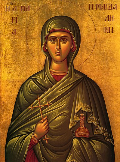 Holy Myrrh-bearer and Equal-to-the-Apostles Mary Magdalene.