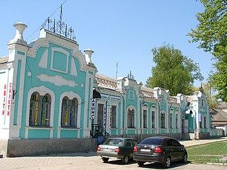 Zinkiv - Image: Будинок (вул. Леніна, Зіньків)