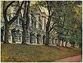Василий Савинский - Екатерининский дворец, 1927. Акварель.jpg