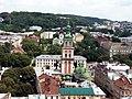 Вид на ансамбль Успенської церкви (Вежа Корнякта).jpg