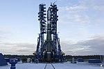 Воздушно-космические силы провели успешный пуск новой ракеты-носителя «Союз-2.1В» с космодрома Плесецк 08.jpg