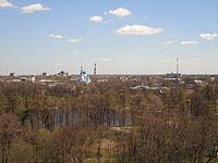 Гатчинский парк. Вид на город..JPG