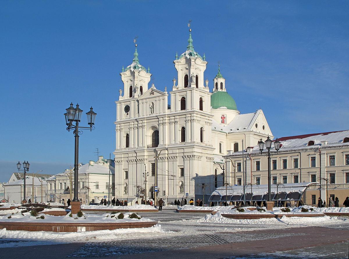 Catedral de San Francisco Javier (Grodno) - Wikipedia, la ...