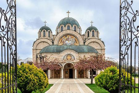 A Photograph from the Holy Trinity Church in Radovish, Macedonia.