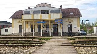 Zemun Polje railway station railway station in Belgrade, Serbia