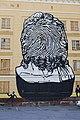 Здание бывшего Пермского военного института ракетных войск. Граффити 2011 - 1.jpg