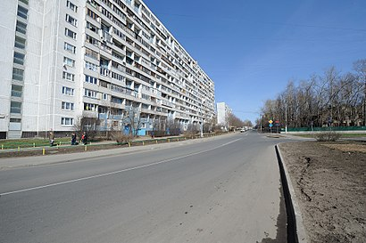 How to get to Клязьминская Улица with public transit - About the place