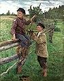 Николай Богданов-Бельский - Страна мальчиков (1916).jpg
