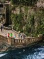 Новый Афон. Вид на терассу с водосброса - 2.jpg