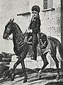 Рисунок к статье «Конно-егеря». Конный егерь в 1788 году. ВЭС (СПб, 1911-1915).jpg