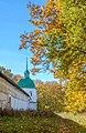 Спасо-Преображенський монастир, Новгород-Сіверський, західна вежа.jpg