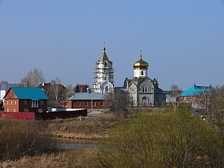 Church of the Purification of the Blessed Virgin Mary, Staropyshminsk
