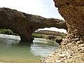 رسوبات رودخانه ای که در اثر فرسایش آب به این شکل در آمده - panoramio.jpg