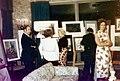 """ทวีพงษ์ ลิมมากร แสดงภาพวาดศิลปินเดี่ยว ที่ """"แคริชคลับ"""" .jpg"""