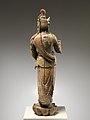 元至正十九年 彩繪木雕觀音菩薩像(柳木胎)-Bodhisattva Avalokiteshvara (Guanyin) MET DP223479.jpg