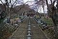 大山寺の階段全景 - panoramio.jpg