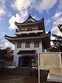 大野城(模擬天守)-佐治氏がお江を迎えた地 2013-12-13 15-40.jpg