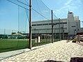 帝京大学八王子キャンパス第一グラウンド 蔦友館.JPG