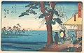 東海道五十三次 大磯 鴫立沢西行庵-Ōiso MET DP122889.jpg