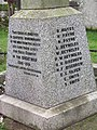 -2020-01-05 War memorial, Parish church of Saint Mary the Virgin, Northrepps (3).JPG