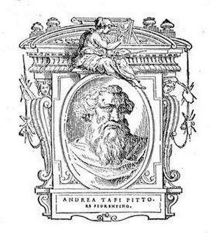 Andrea Tafi (artist) - Portrait of Andrea Tafi from Vasari's Lives''