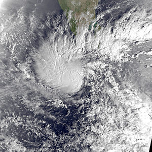 1991 North Indian Ocean cyclone season - Image: 01A Jan 17 1991 0213Z