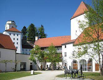 Veste Oberhaus - Inner courtyard