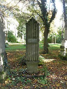 Grab von Johann Poißl auf dem Alten Südlichen Friedhof in München Standort48.12855555555611.565722222222 (Quelle: Wikimedia)