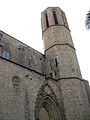 085 Santa Maria de Pedralbes, portada i campanar.jpg