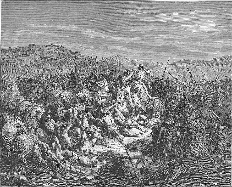 092.The Israelites Slaughter the Syrians