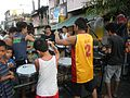 0932jfPedestrian footbridge C-32 Capulong Marcos Road Musicians Tondo Manilafvf.jpg