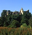 1, Guy's Cliff House, Warwick. Picture taken from across the river Avon. Circa 2005.jpg