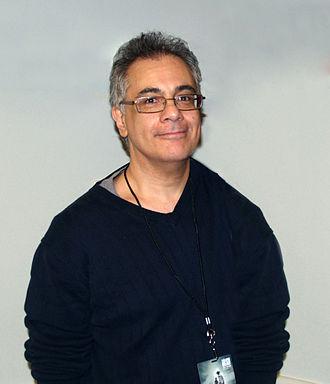 Frank Lovece - Lovece at the 2014 New York Comic Con