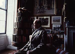 Baron Herbert - Henry Hugh Arthur Somerset, 10th Duke of Beaufort, 18th Baron Herbert at Badminton House by Allan Warren