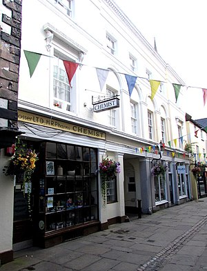 12–16 Church Street, Monmouth - 12–16 Church Street, from No.12