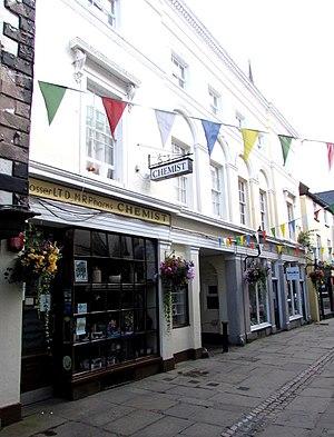 12–16 Church Street, Monmouth - 12–16 Church Street, from No.12
