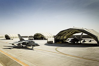 Operation Herrick - A 12 Sqn Tornado GR4 at Kandahar Airfield