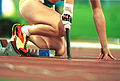 141100 - Athletics track female arm amputee close up - 3b - 2000 Sydney race photo.jpg