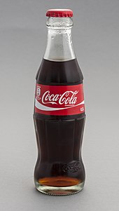 "Coca-Cola bottle - see ""Contour bottle design"" section"