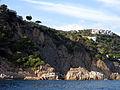 161 Punta de n'Aromir i sa Canal, al fons Salionç (Tossa de Mar).JPG