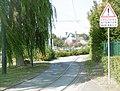 16 Véloroute de la Deûle à Marquette. Cyclistes attention aux rails !.jpg