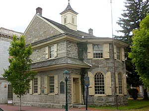 National Register of Historic Places listings in Delaware County, Pennsylvania - Image: 1724 Chester Courhouse