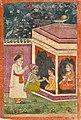 1733 CE Janamsakhi British Library MS Panj B 40, Guru Nanak hagiography 4, Bhai Sangu Mal.jpg