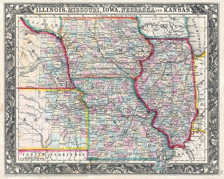 Kansas City Township Map