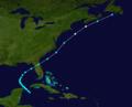 1879 Atlantic hurricane 7 track.png