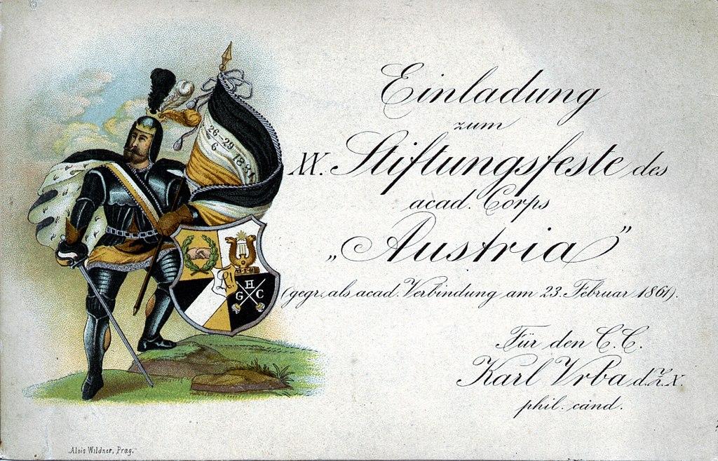 file:1881-einladung stiftungsfest austria - wikimedia commons, Einladung